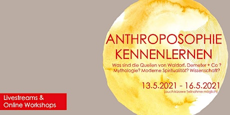Anthroposophie Kennenlernen / ONLINE Tagung Tickets