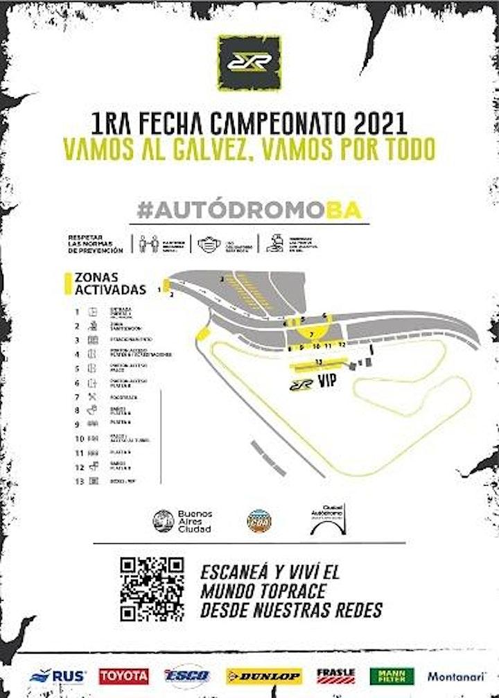 Imagen de 1º Fecha del TOP RACE - ENTRADA BOXES -  3 y 4 de Abril del 2021