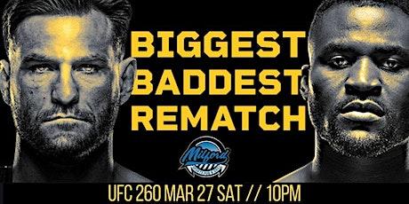 [[StREamS@//Live]]:- UFC 260 LIVE ON MMA fReE 27 MAR 2021 tickets