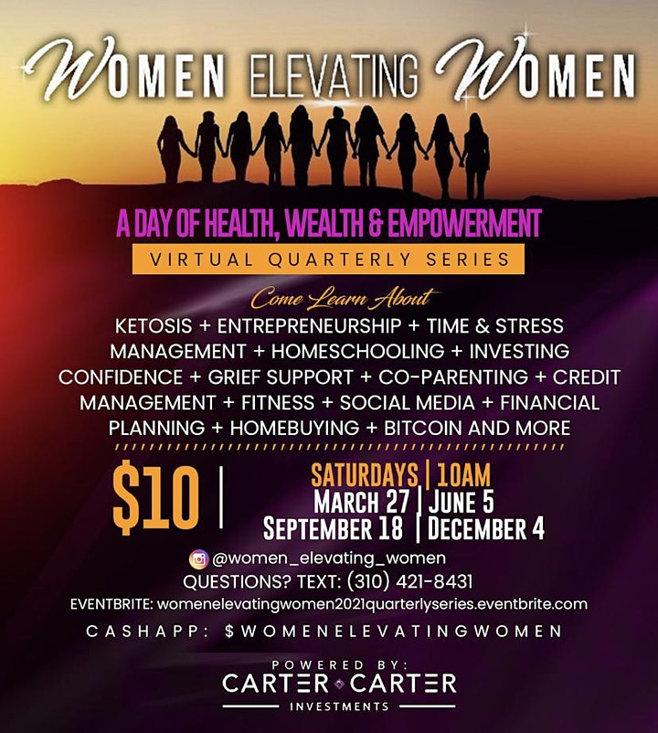 Women Elevating Women: A Day of Health, Wealth and Empowerment image
