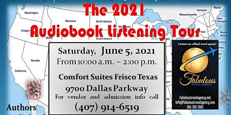 Confinement Chronicles  - The 2021 Audiobook Listening Tour - Frisco, Texas tickets