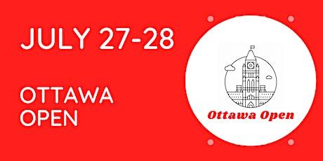 Ottawa Open tickets