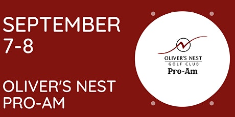 Oliver's Nest Pro-Am tickets