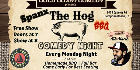 Spanx The Hog Comedy Night tickets