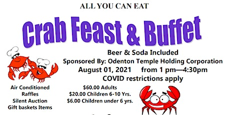 2021 Crab Feast Fundraiser tickets