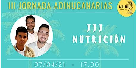 JJJ Nutrición, los Nutripadrinos tickets