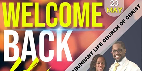 Welcome Back to Church @ Pentecost Sunday at ALCC! tickets