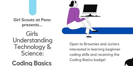Coding Basics - Girls Understanding Technology & Science biglietti