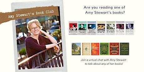 Book Club with Amy Stewart tickets