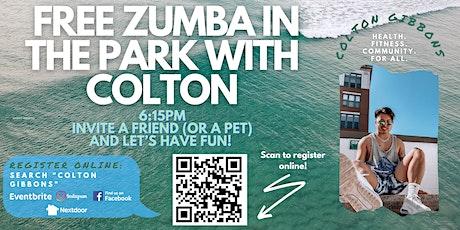 Free Zumba in the Park W/ Colton - Penrose Park entradas