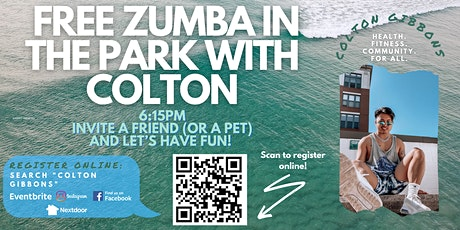 Free Zumba in the Park W/ Colton - Quincy Park tickets