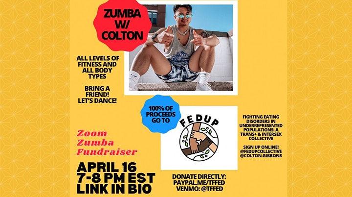 Free Zumba in the Park W/ Colton - Penrose Park image