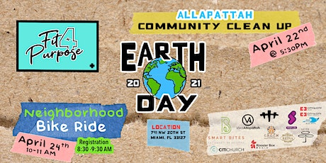 Earth Day 2021 Community Clean Up & Neighborhood Bike Ride tickets