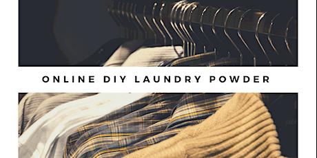 Online DIY Laundry Powder Workshop tickets