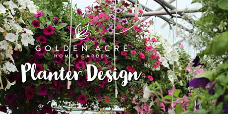 Designing Planters & Hanging Baskets tickets