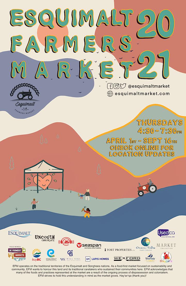 Esquimalt Farmers Market's 7th Season in Bullen Field image