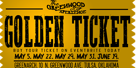 The Greenwood Joy Experience tickets