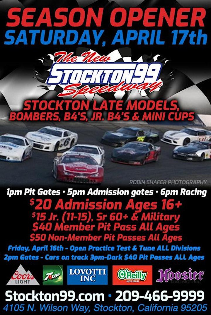 Stockton 99 Speedway Season Opener image