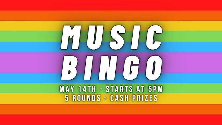 Music Bingo - Category is 'Greatest Hits' image