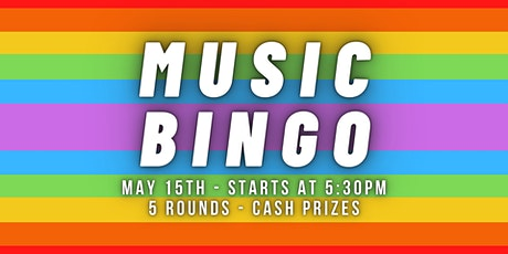 Music Bingo - Category is 'Greatest Hits' tickets