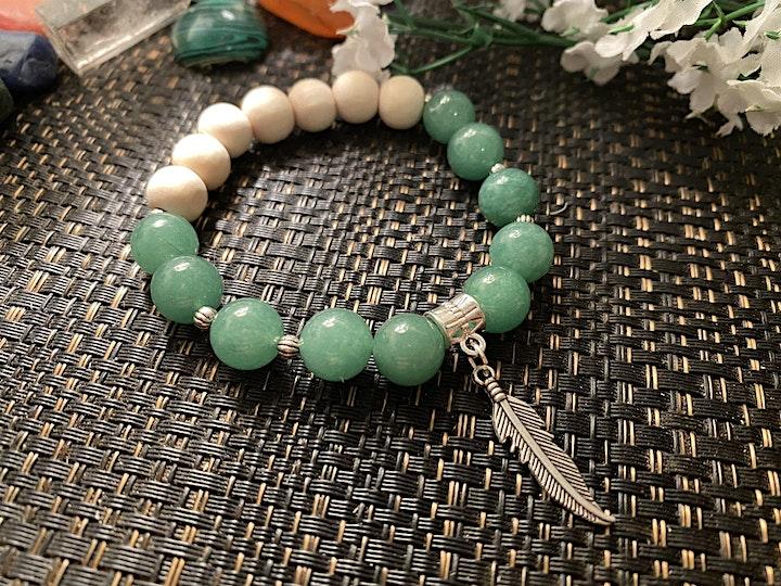 Create Your Own Gemstone Aromatherapy Bracelet - Workshop image