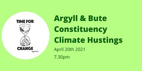 Argyll & Bute Constituency Climate Hustings tickets