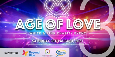 Age Of Love 3 Pink & White Charity tickets