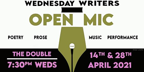 "Todmorden Wednesday Writers' ""The April Double"" Open Mic tickets"