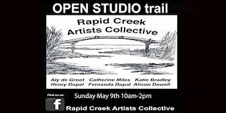 Rapid Creek Artists Collective SIX OPEN STUDIOS trail tickets