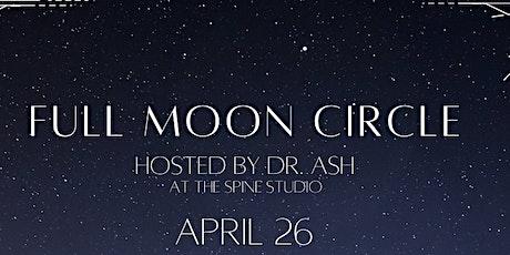 Full Moon Circle - April tickets