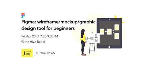 Figma: wireframe/mockup/graphic design tool for beginners tickets