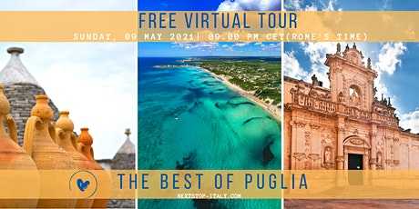 FREE VIRTUAL TOUR: The Best of PUGLIA tickets