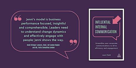 Online Book Launch: Influential Internal Communication tickets