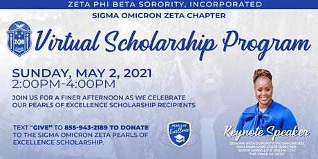 Pearls of Excellence Scholarship Program tickets