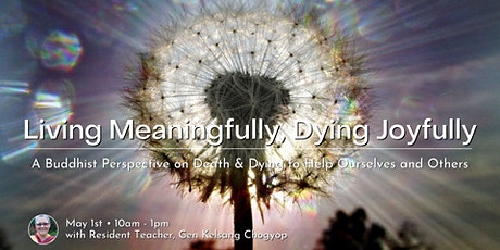 Living Meaningfully, Dying Joyfully: an online workshop tickets