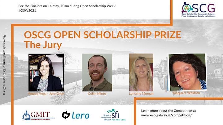 OSCG Open Scholarship Prize - The Final! image