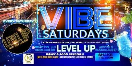 VIBE:Saturday featuring Hip/Hop, R&B, & Caribbean Music by DJ Papo tickets