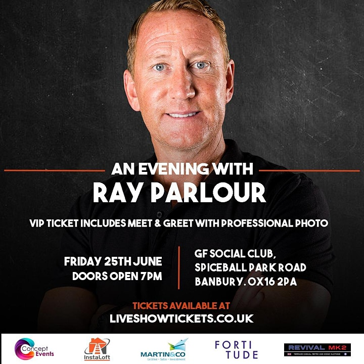 An Evening with Ray Parlour image