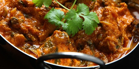 Lamb Balti / Vegetable Balti  and Garlic Naan Wellbeing Cook-Along tickets