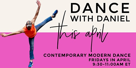Dance With Daniel: Contemporary Modern Dance Class tickets