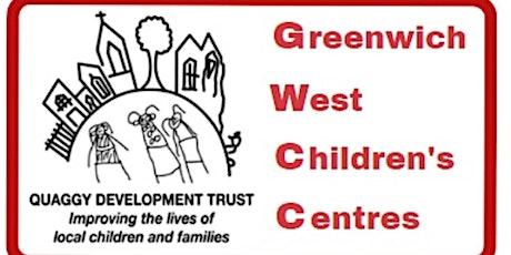 Bouncing babies at  Quaggy at Robert Owen Children's Centre tickets
