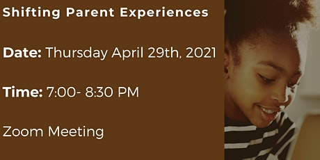 PoBC Quarterly Meeting- Shifting Parent Experiences tickets