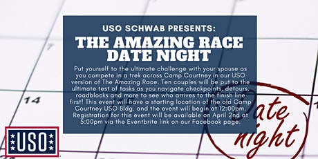 USO Schwab's Amazing Race Date Night tickets