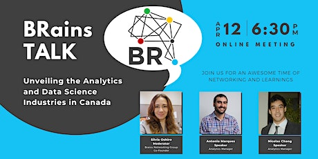 BRains TALK: Unveiling the Analytics and Data Science Industries in Canada tickets