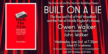 Built on a Lie: The Rise and Fall of Neil Woodford with Owen Walker tickets