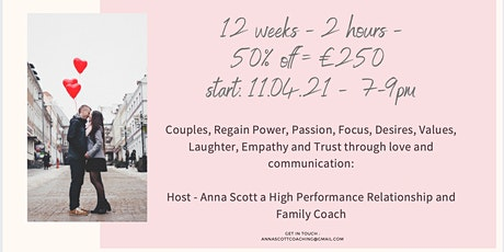 Couples: Power of love through communication and your true self tickets