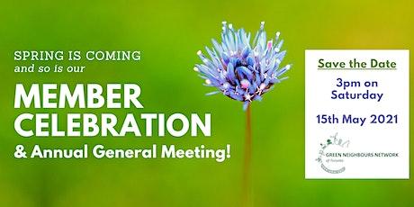 GNN 1st Annual Member Celebration & General Meeting tickets