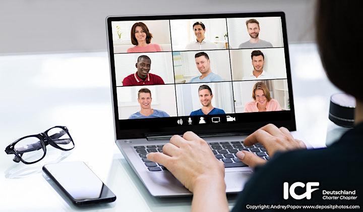 Virtual ZOOM Coffeeshop Groupencoaching (Abendveranstaltung auf Deutsch): Bild