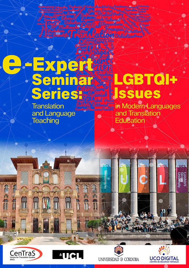 5th E-Expert Seminar: LGBTQI+ Issues in MFL and Translation Education image