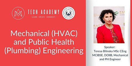 Tech Academy: Mechanical (HVAC) and Public Health (Plumbing) Engineering entradas